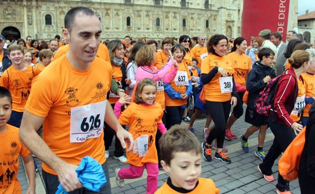 Carrera solidaria a favor de Alcles./