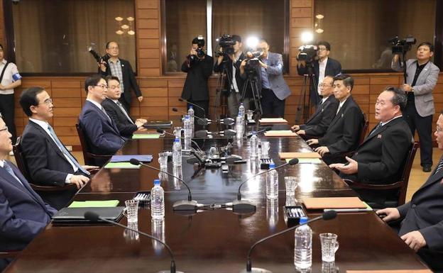 Las dos Coreas acuerdan celebrar una nueva cumbre en septiembre