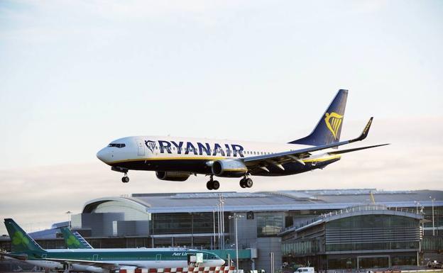 Dos aviones de Ryanair, a punto de colisionar cuando sobrevolaban Pamplona