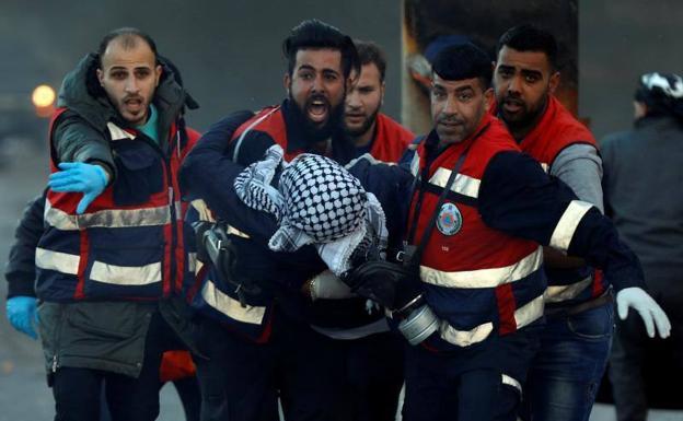 Israel tira la casa de un asaltante palestino en Cisjordania