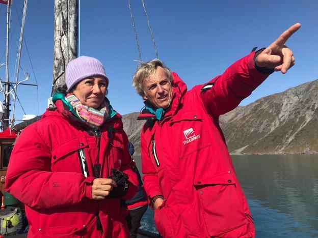 Ana Botín viaja hasta Groenlandia para grabar una entrega de 'Planeta Calleja'