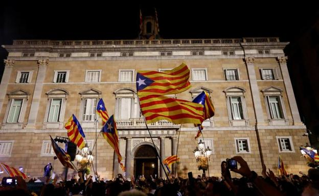 Vista general del Parlamento de Cataluña./Reuters