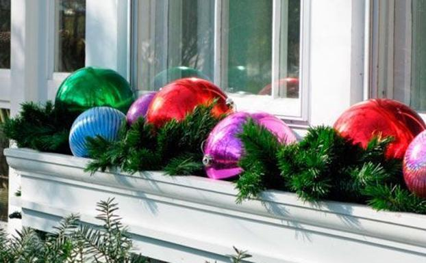 Balcones Engalanados Por Navidad Leonoticias