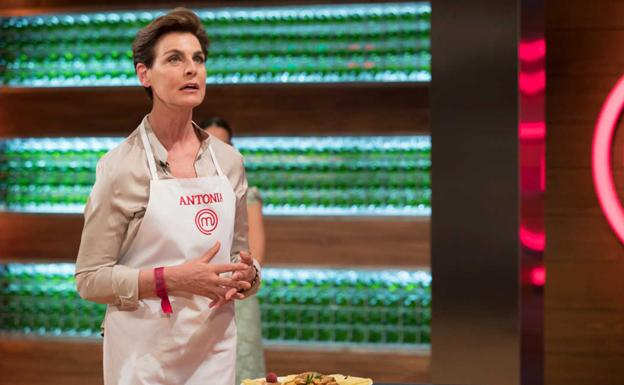 Antonia Dell'Atte, en 'Masterchef Celebrity 3'. /TVE