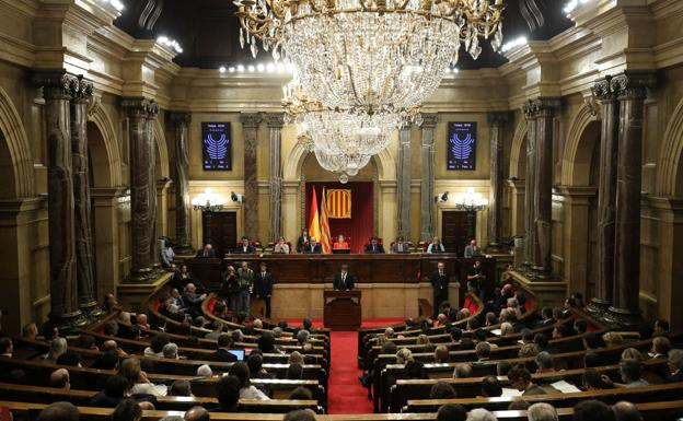 Vista general del Parlament./Albert Gea (Reuters)