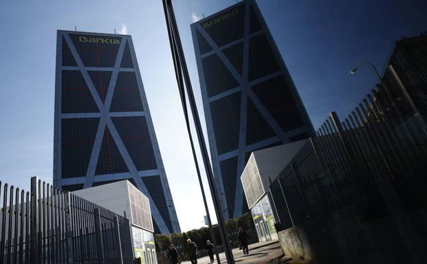 Vista de la sede central de Bankia. /Reuters