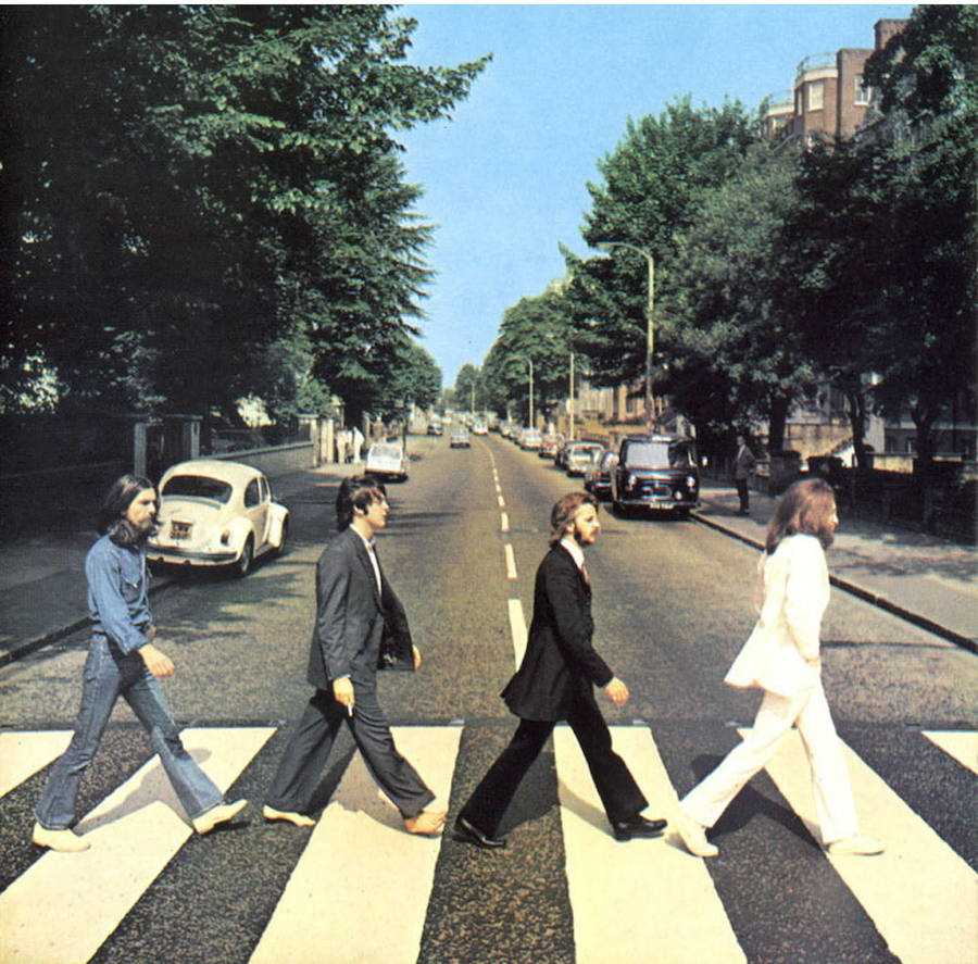 Portada de 'Abbey Road', de The Beatles, publicado en 1969. /EL NORTE