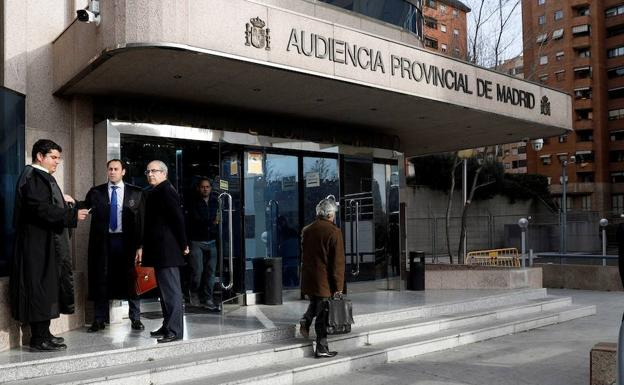 Audiencia Provincial de Madrid./EFE