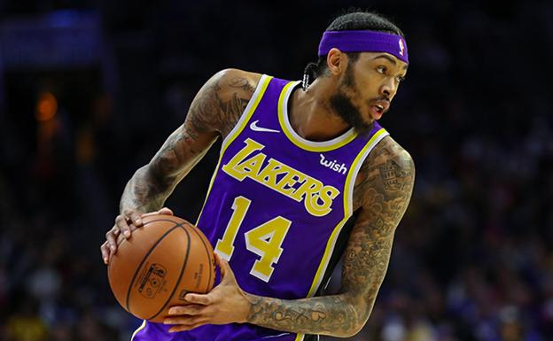 Brandon Ingram, durante un encuentro de esta temporada./Ty Nowell (Los Angeles Lakers)