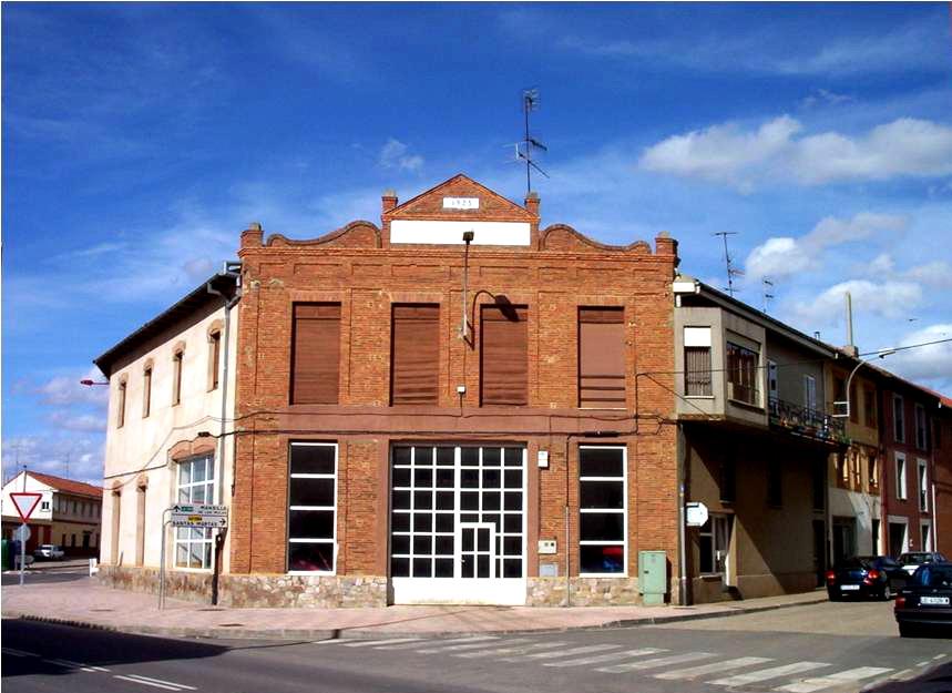Campo de concentración de Valencia de Don Juan. /