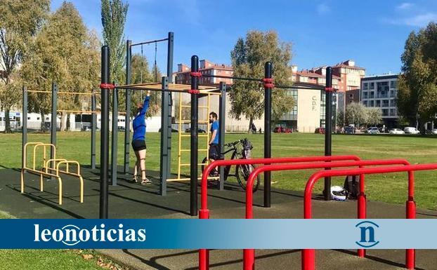 El PP de San Andrés pide que el parque de los Patos se adecue para practicar calistenia - leonoticias.com