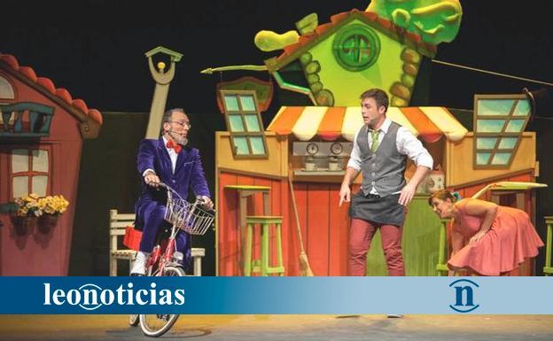 El teatro San Francisco acoge la obra infantil Rubicundo - leonoticias.com